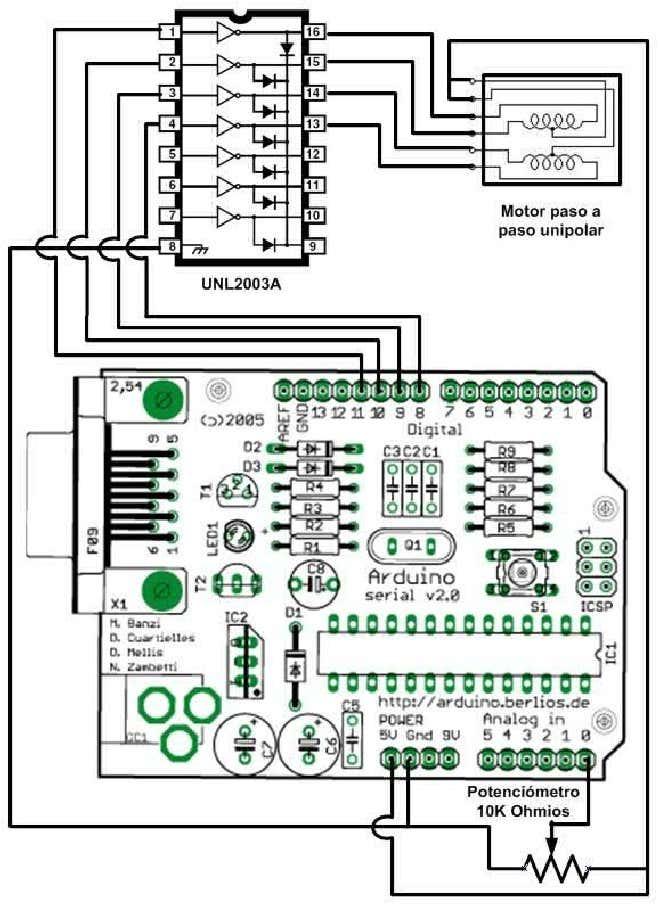 Control de Motores Paso a Paso con Arduino