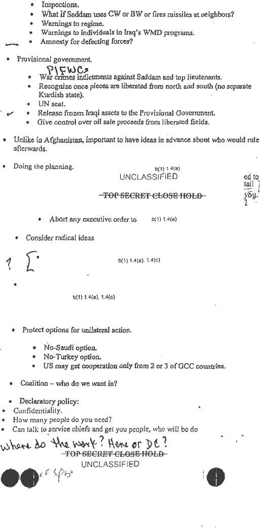 Newly Released Memo by Donald Rumsfeld Proves Iraq War Started On False Pretenses 2 7f74c41013
